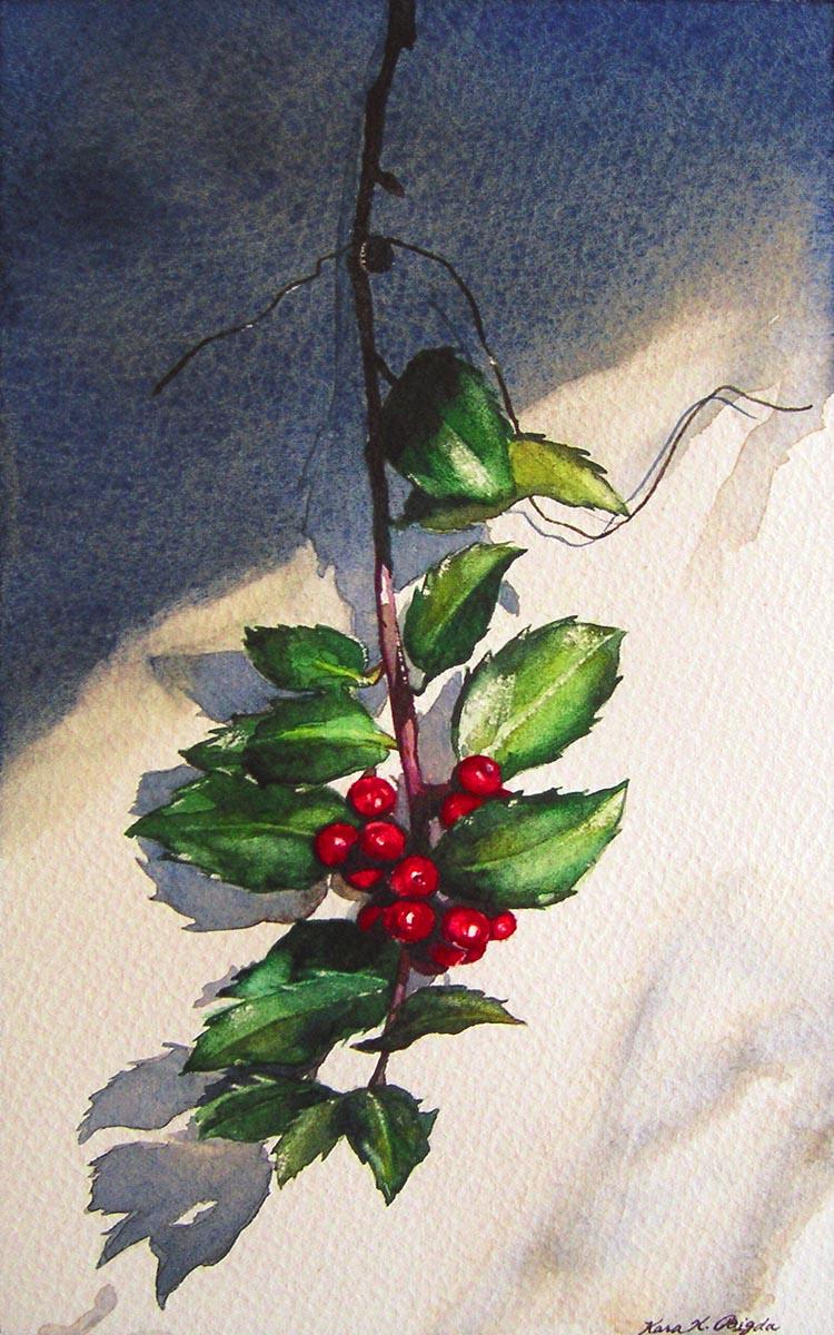 u0026quot hanging christmas holly u0026quot