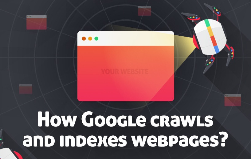 The Science Behind How Google Crawls & Indexes Web Pages - #infographic