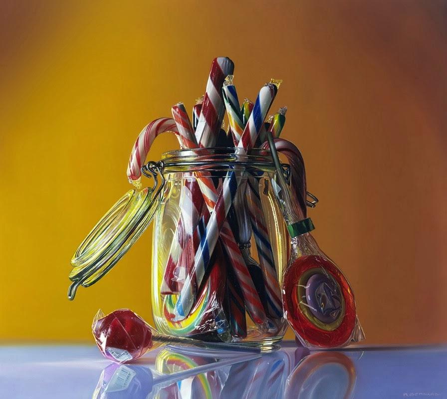 12-Zucchero-Filato-Candy-Floss-Roberto-Bernardi-Hyper-realistic-Candy-Paintings-www-designstack-co