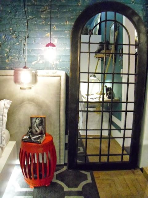 porteira de espelho - quarto do rapaz - Karla Guisande - Santos Arquidecor 2013