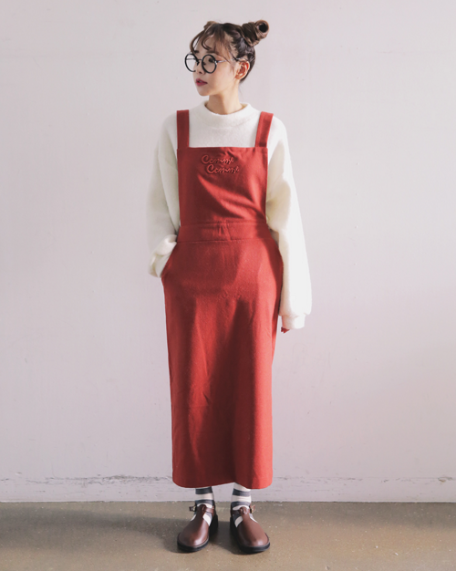 """Comme Comme"" Overall Dress"