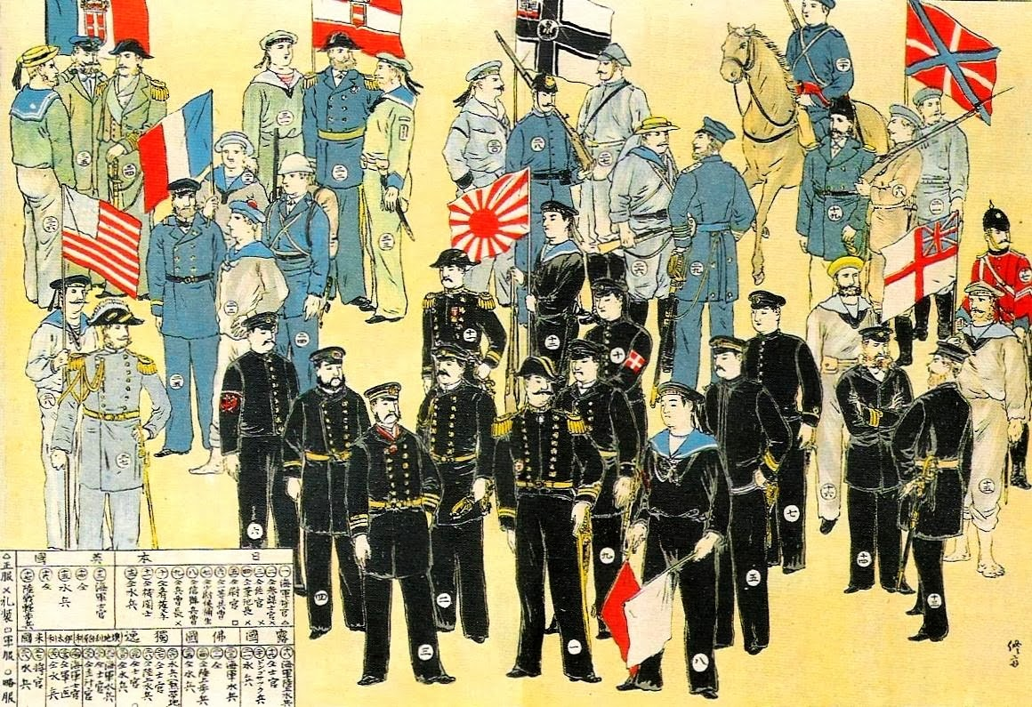 Boxer Rebellion 8 Nation Alliance