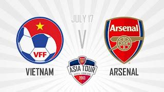 Prediksi Skor Bola Vietnam vs Arsenal FC 17 Juli 2013 Friendly Match