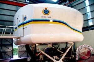 Simulator pesawat FS CN-235 produksi PT Dirgantara Indonesia