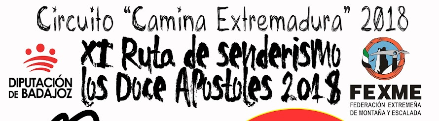 """X Ruta de senderismo """"Los Doce Apóstoles"""" 2018"""