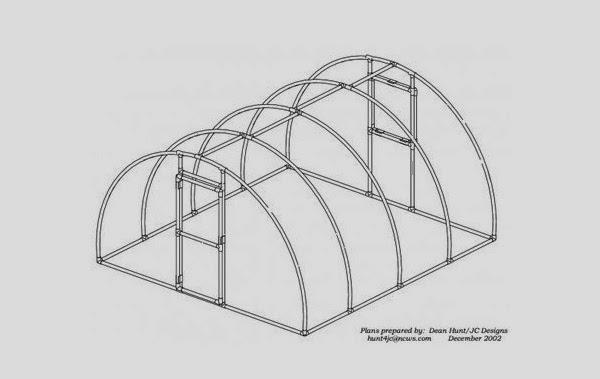 Invernadero casero aprende como se hace como hacer un for Construccion de un vivero paso a paso