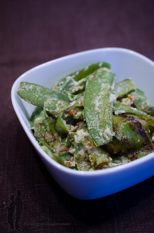Pois gourmands la cr me blogs de cuisine - Cuisiner des pois gourmands ...