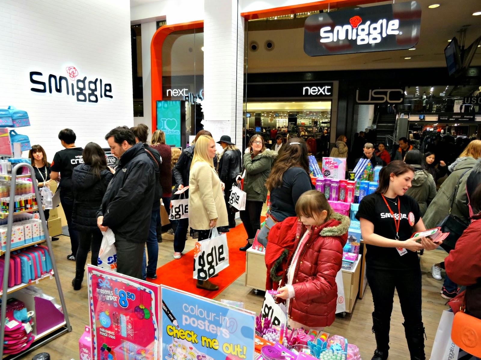 Smiggle store Birmingham opening stationery