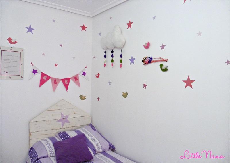 Ideas deco habitaci n infantil de ni a - Habitacion infantil nina ...