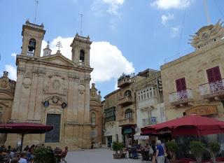 Basílica de san Jorge, Victoria, isla de Gozo.