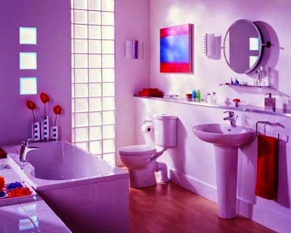 kombinasi cat kamar mandi untuk rumah minimalis