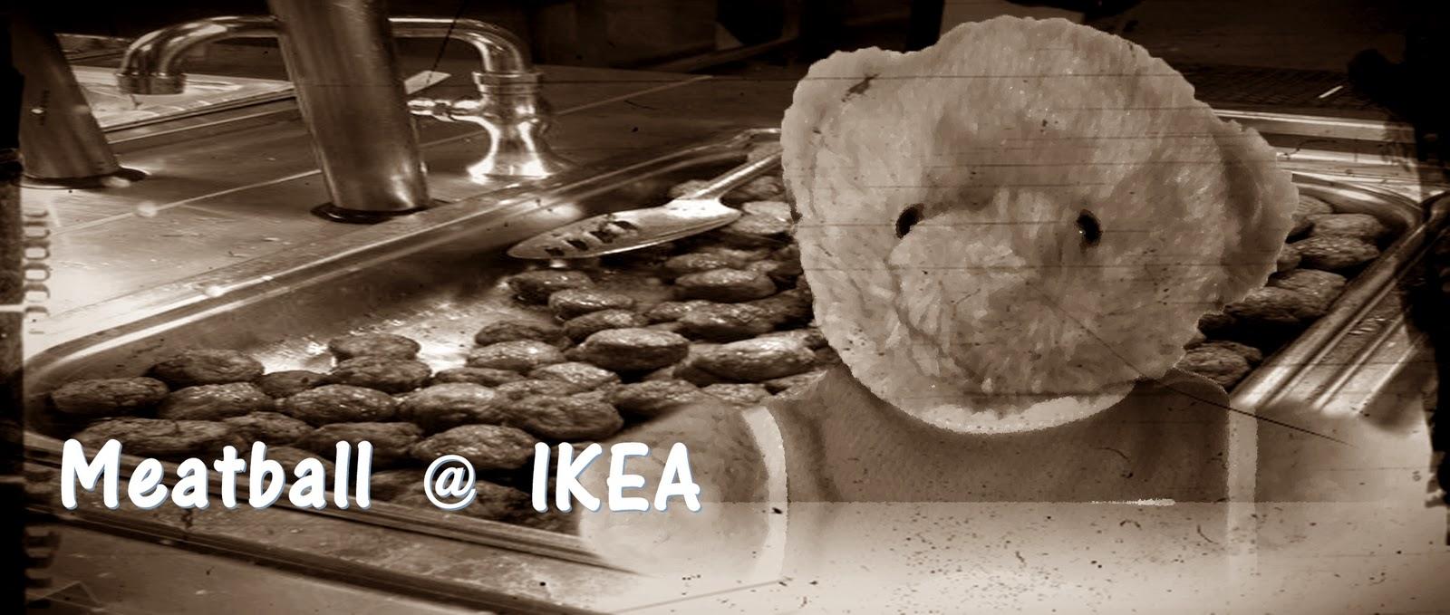Blog Bear Biru Meatball IKEA