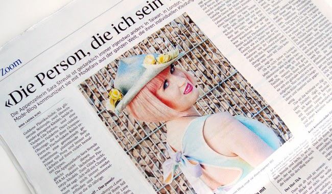 Tagblatt, blogger, sara is in love with, portrait