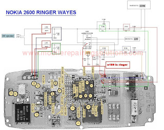 Nokia 2600 Ringer or Buzzer Ways / Jumper / No Sound Problem - Solution
