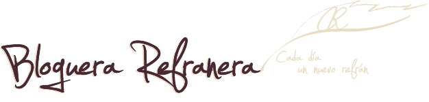 Bloguera Refranera
