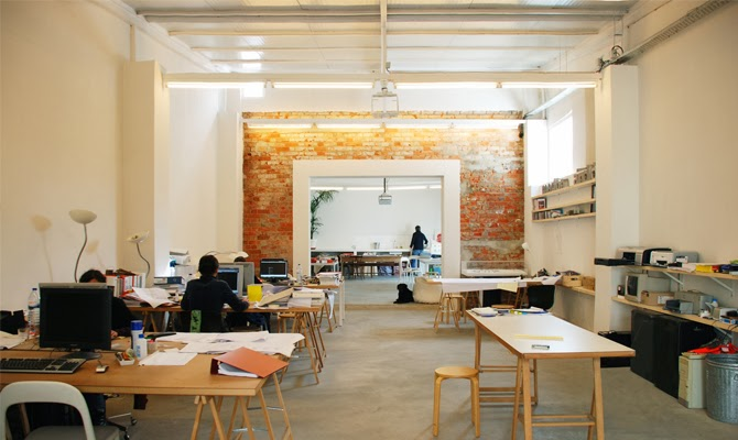 decoracao tijolo branco : decoracao tijolo branco:tijolo a vista no escritório de arquitetura Jose Adrião inspirou o