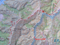 Tom Harrison Map Angeles High Country