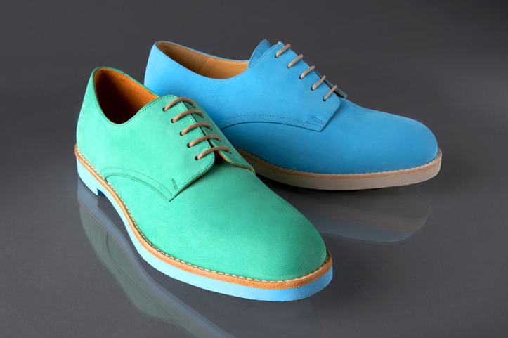How to Rock Coloured Dressed Shoes - 31stBLUE