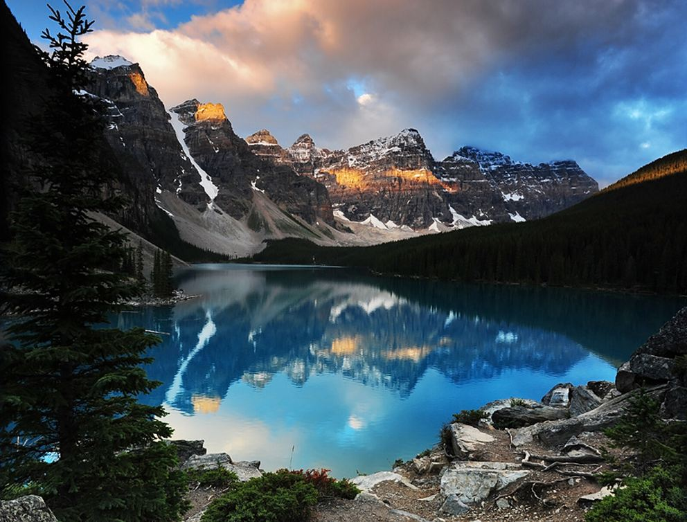 Moraine & Consolation Lakes, Canada