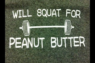 WIll Squat For Peanut Butter, Clean Eating Stripped