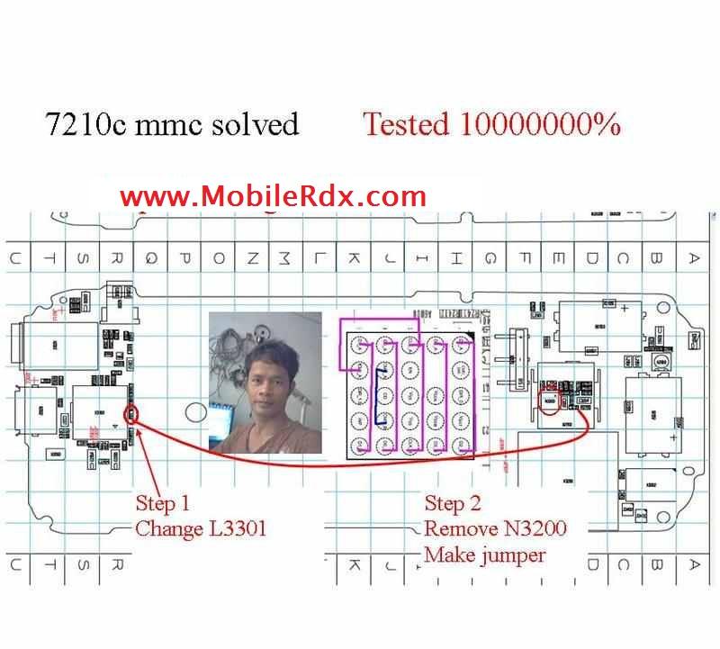 Nokia 7210c Mmc Ic Jumper