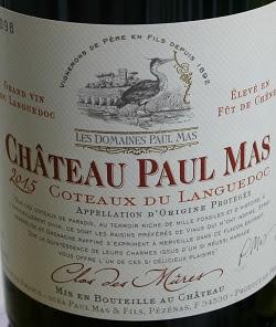 Notre vin de la semaine, un très bon rouge des Coteaux du Languedoc !