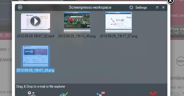 Infos technos informatique vid os hifi photos for Copie ecran