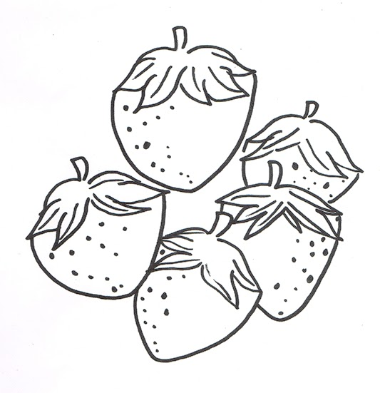 SunBox Free Coloring Pages For Kids Fruits That Can Be Found In