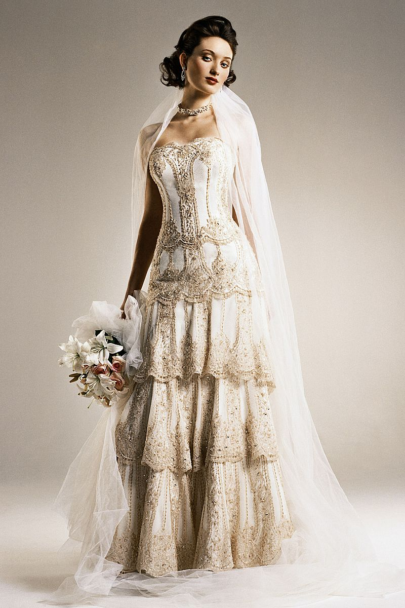 Vintage Wedding Dresses Images