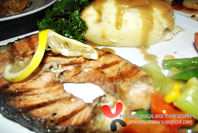 CHEF & BREWER Salmon Steak