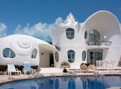 shell house Isla Mujeres
