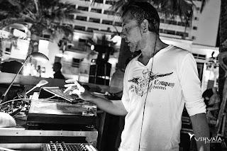 Marc Antona en Ushuaïa Ibiza Beach Hotel el pasado 12 de mayo