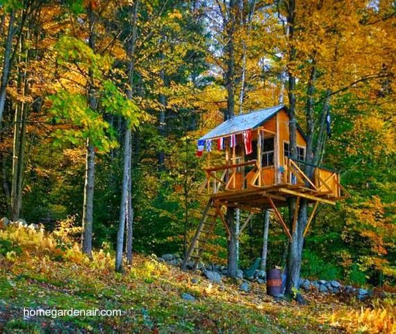 Arquitectura de casas creativas casas y caba as hechas - Cabanas en los arboles ...