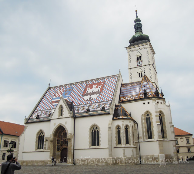 薩格勒布, Zagreb, 聖馬可教堂, Crkva sv Marka