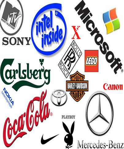 world famous logos: