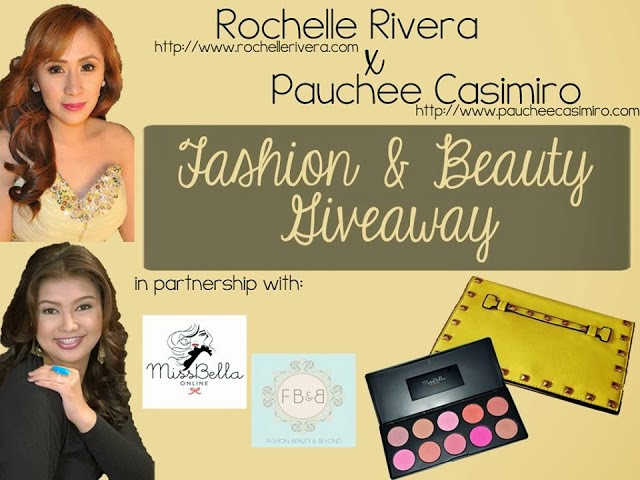 Rochelle Rivera x Pauchee Casimiro Fashion and Beauty Giveaway ♥