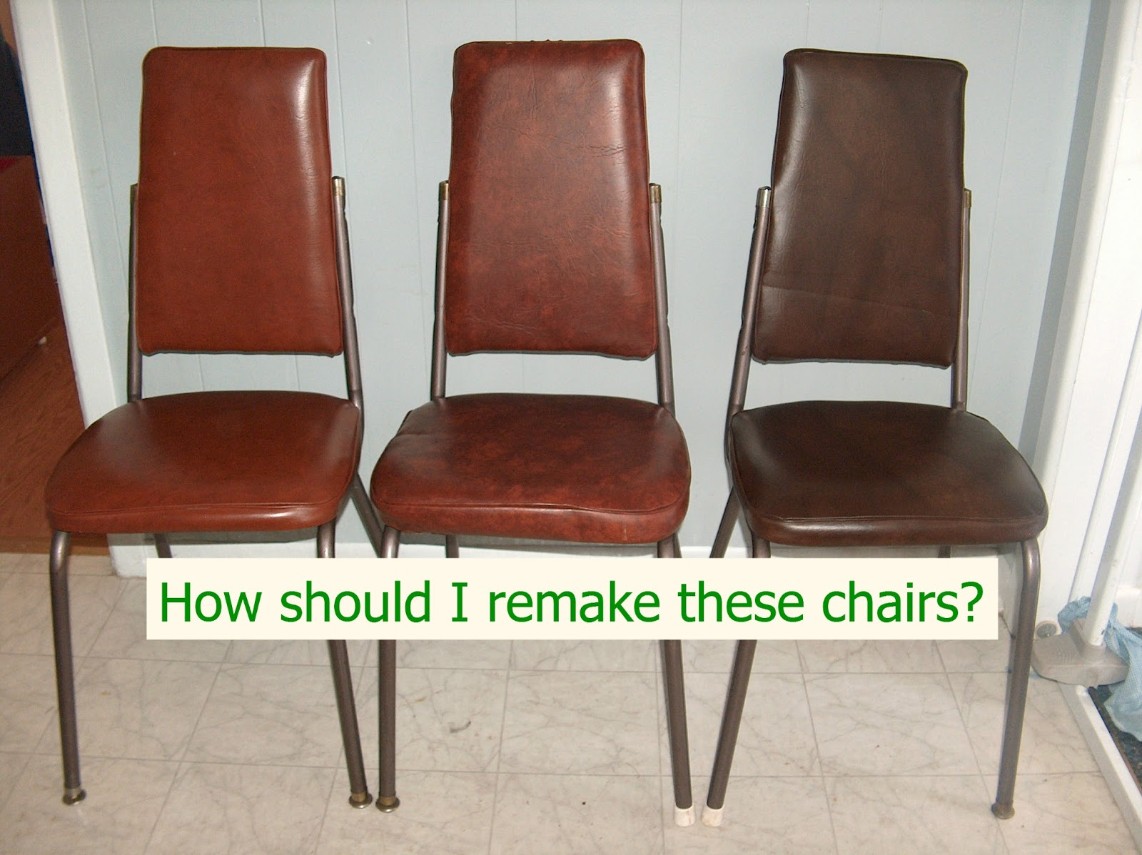 Kitchen Chair Kitchen Chair Reupholstery Or Remake Dilemma Thrifty Texas Penny