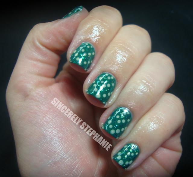 dotting-tool-nail-art-green
