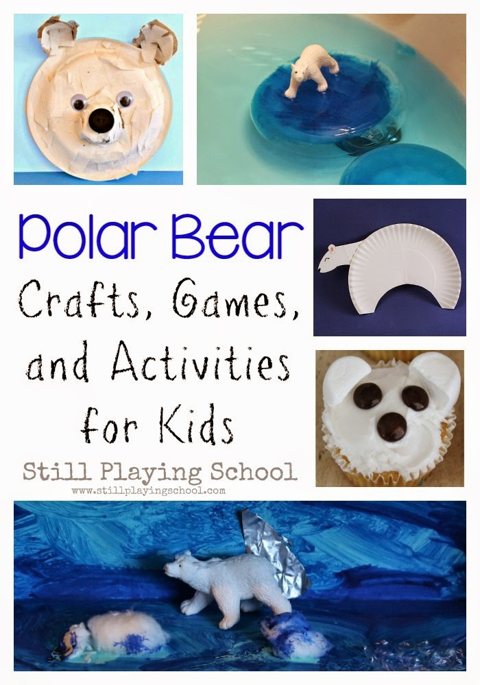 Polar Bears Are Fascinating Arctic Animals Weve Gathered The Best Bear Themed Crafts Games And Activities For Kids You To Have All Ideas
