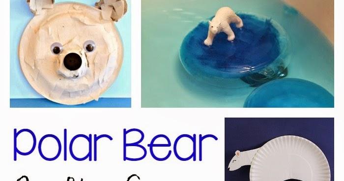Polar Bear Crafts Activities For Kids