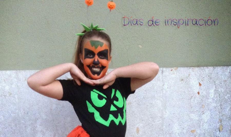 Das de Inspiracin Disfraz casero de calabaza Home made pumpkin