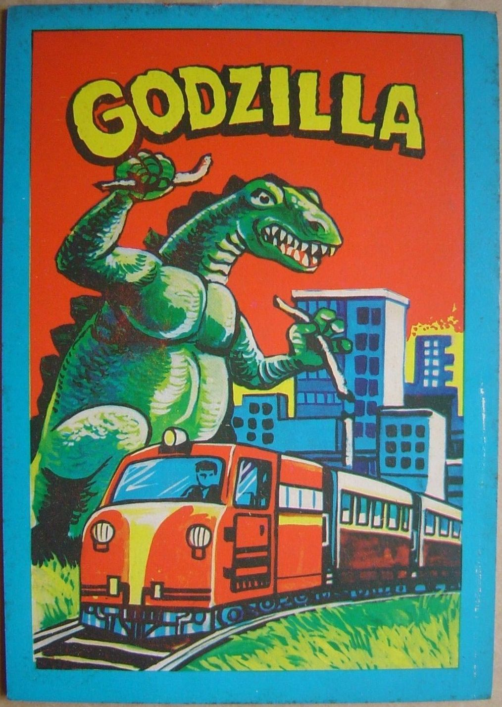 The Abomination That Is Singapore Godzilla Bootleg Coloring Book 1970s