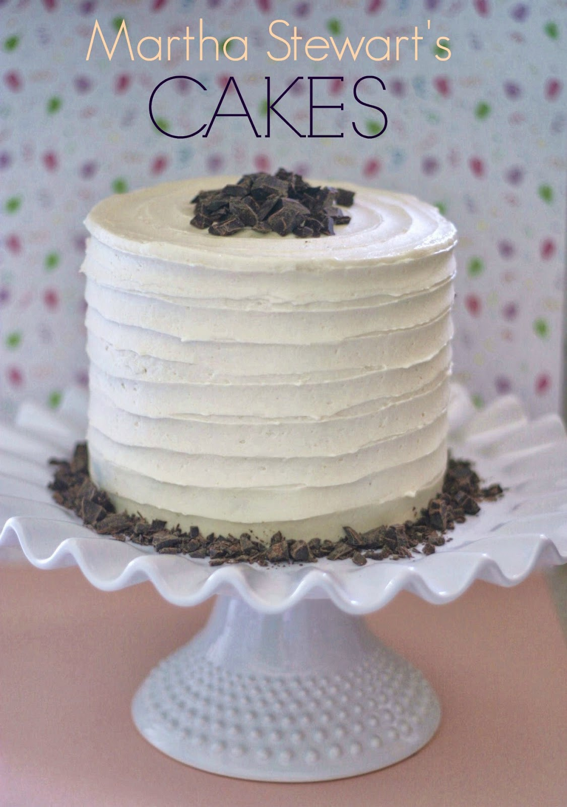 Pink Little Cake Reviewing Martha Stewart s CAKES book