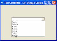 Cara Menambahkan List Item Pada ComboBox Di Visual Basic 6.0