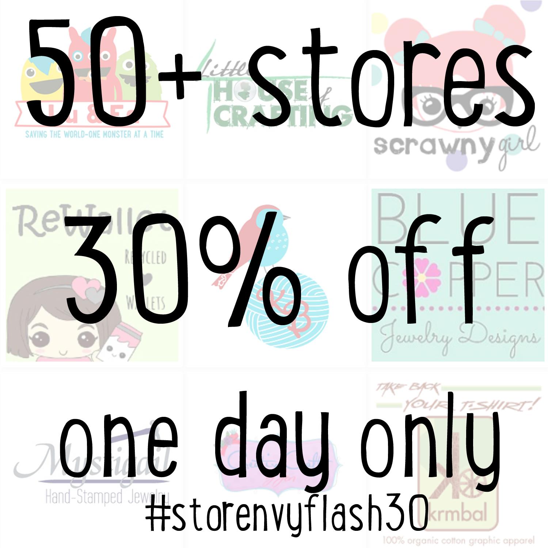 #StorenvyFlash30 Cyber Monday Sale