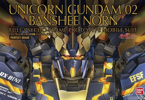 PG 1/60 Banshee Norn Unicorn Gundam