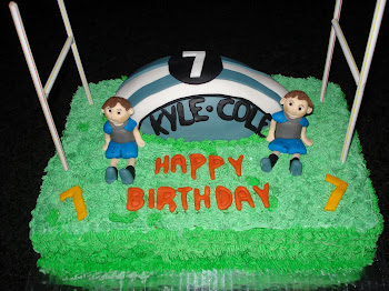 Kyle & Cole's Rugby Cake