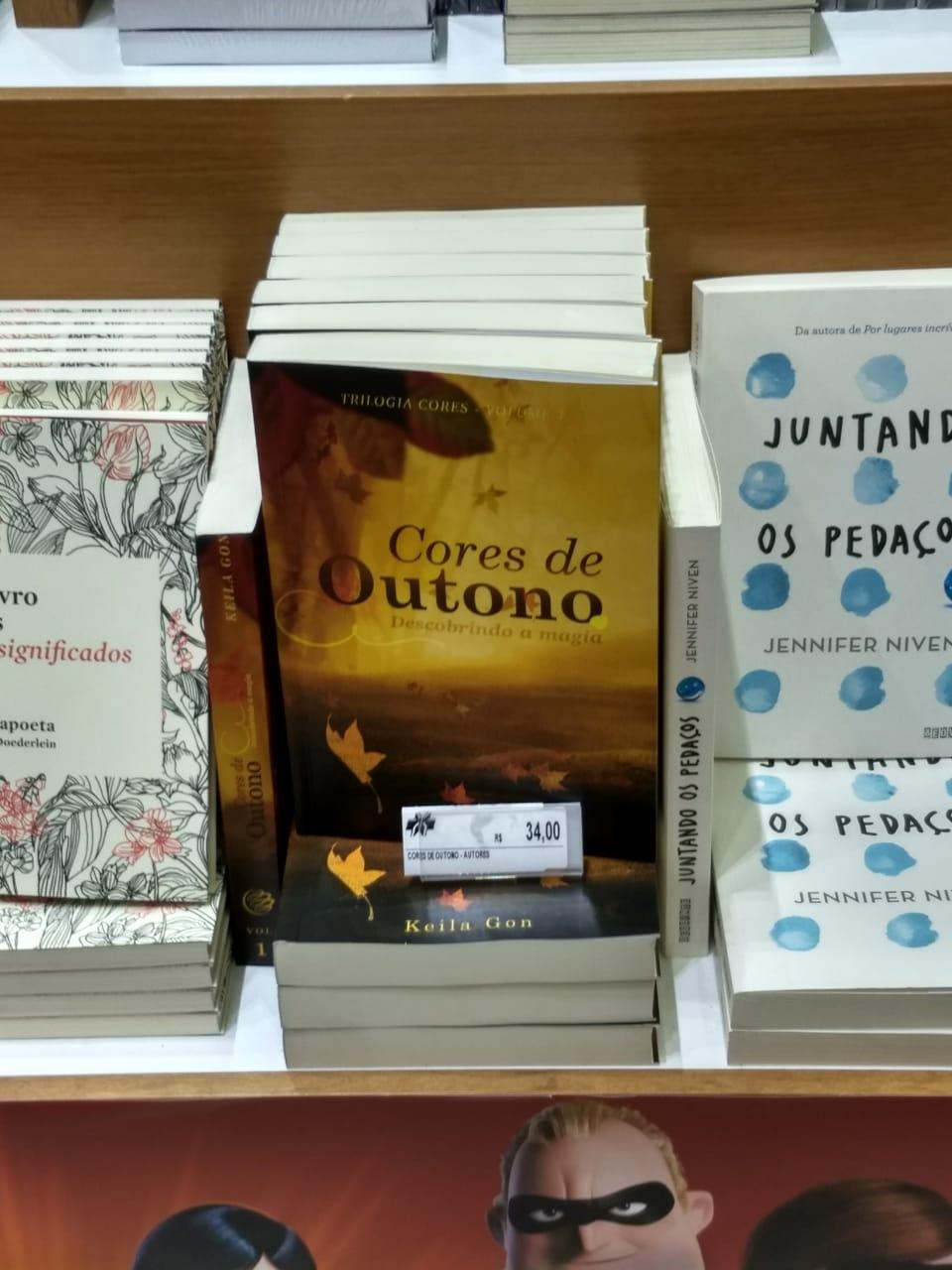 Compre Cores de Outono na Livraria Curitiba