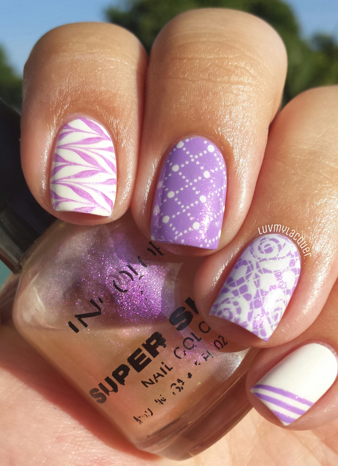 LuvMyLacquer: 31DC2013 Day 6 - Violet Nails