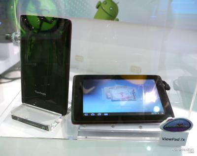 world first 7 android 3 0 or honeycomb tablet the viewpad 7x series